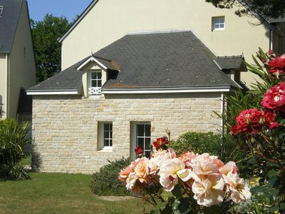 Photo for Fouesnant Glénan, pool, exceptional -vue wonderful garden P & V residence ***