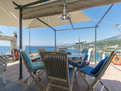 Photo for Apartment Carpe Diem with the best sea view, Utjeha Montenegro, Mediterranean