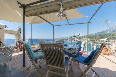 Terrace Apartment with the best sea view Utjeha Montenegro Mediterranean Europe