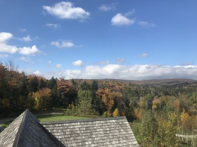 Beautiful autumn views out of every window