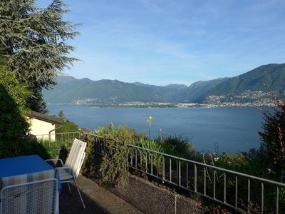 Photo for Holiday apartment Magadino for 4 persons with 2 bedrooms - Holiday apartment in a two family house