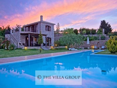 Photo for 2BR Villa Vacation Rental in Lefkas town, Lefkada Island