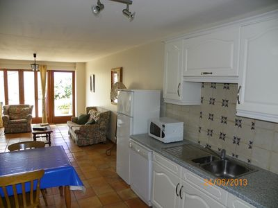 Photo for Romantic Les Soulières gite. Spacious, well equipped, decorated with care