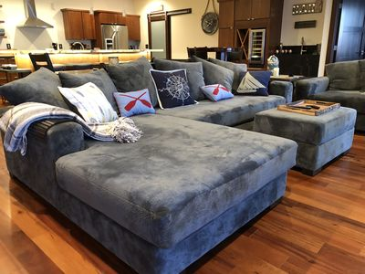 We dare you to get up from this couch.