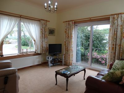 Photo for Luxury Rural Retreat with great views of  Scottish Highland Mountains and Glens