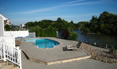 Photo for Luxury Home with POOL; 100' Bulkhead; EZ Bay Access for Boating; Jet Ski; BBQ