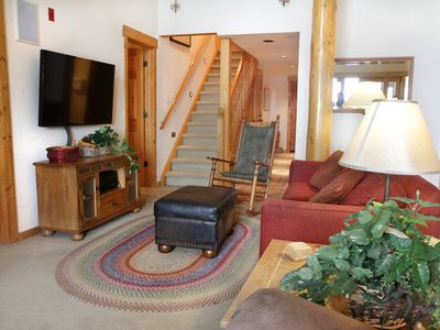 Photo for 1,685SF Penthouse Condo w/ Fireplace; Walk to Lifts, and Private Hot Tub