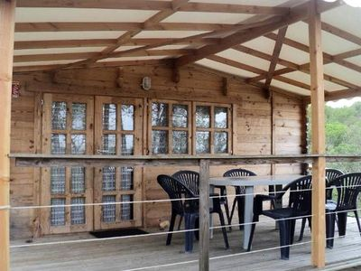 Photo for Camping Bellevue *** - Chalet Wood Padirac 3 Rooms 5 People