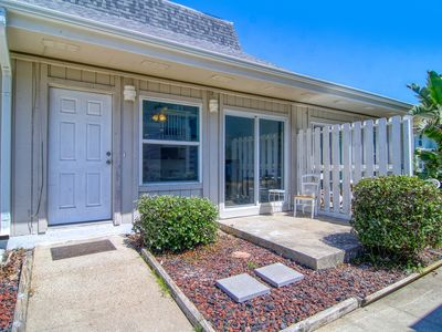 Photo for Fantastic and just steps from the beach! 2 pools! Golf cart boardwalk!