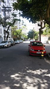 Photo for Apt two blocks from the sea, downtown Guarujá, near the mall, art fair
