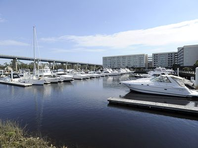 Photo for **WATERWAY AND MARINA VIEWS** Great Location & Prime Weeks still available!