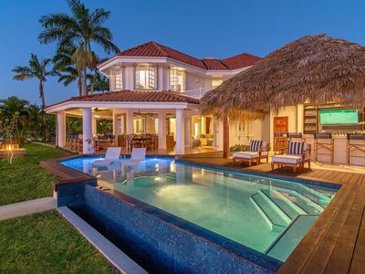 Photo for Beautiful Beachfront Villa in a Gated Community, Private Pool/Bar, Fully Staffed