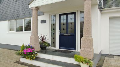 Photo for Carbis Bay St.Ives Cornwall  -  Modern, spacious holiday home, 2 mins from beach