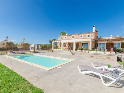 Photo for EL PARAISO (PORTO CRISTO) - Paradisiacal villa in Porto Cristo, with private pool and at less 8 km from the sea.