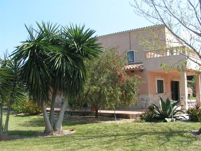 Photo for Pleasant Finca with lots of space, pool and privacy close to Muro
