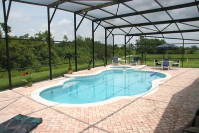 30'x15' South Facing XL Pool on Overextended Deck