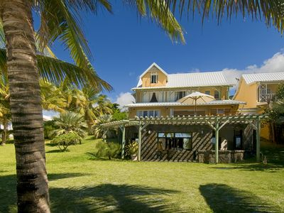 Photo for Mauritius as in your dreams..! Beachfront villa.
