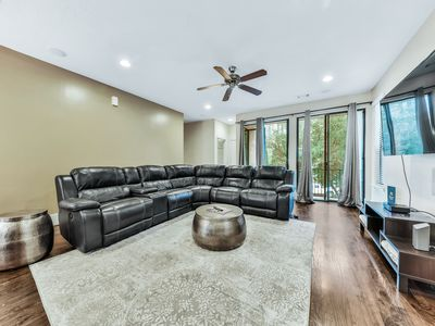 Photo for City townhome w/balcony, rooftop deck, enclosed yard, garage & amazing views!