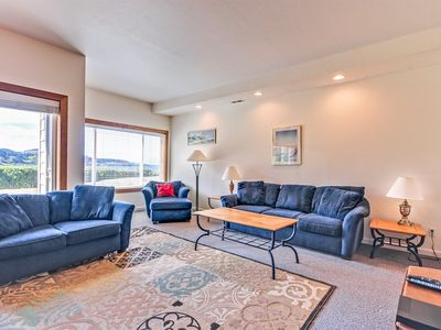 Photo for Depoe Bay Oceanfront Condo with Front Row Seats to Whale Watching!