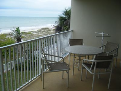 Views of the Gulf of Mexico directly from your balcony
