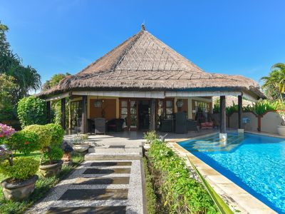 Photo for Villa Pelabuhan - Luxury Beachfront Villa