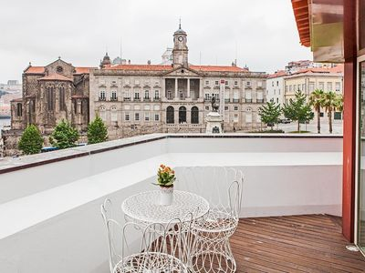 Photo for Apartment in the center of Porto with Lift, Terrace, Washing machine (440195)