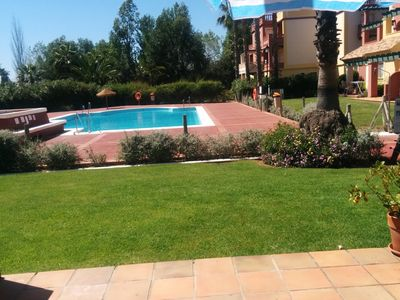 Photo for Golf course Apartment in the Isla Canela Golf and Beach Resort.