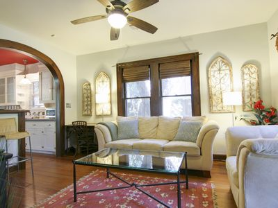 Photo for Keasbey Cottage - 2BR/1BA Charming Bungalow w/ Screened Porch, Hyde Park