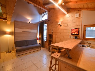 Photo for T2 Apartment Vars les Claux resort center