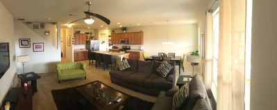 Photo for Large & quiet ideal for groups and family 10miles 2 DT. Amazing patio with view