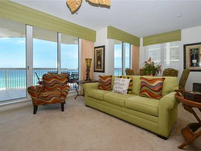 Photo for Beach-Front Condo in heart of Destin: Over-sized Balcony! Family Friendly Resort