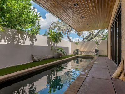 """Photo for """"The Wright Place"""" - F.L. Wright-Inspired Home w/ Private Pool"""