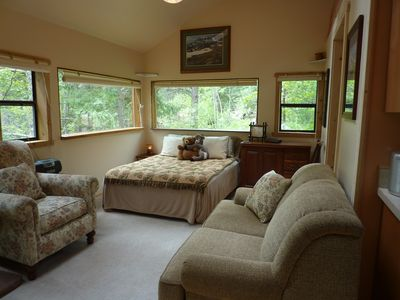Photo for Creeksong Cabin - Mountain retreat  close to Boulder and wilderness area.