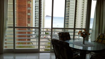 Photo for Nice apartment with sea views two minutes from the beach