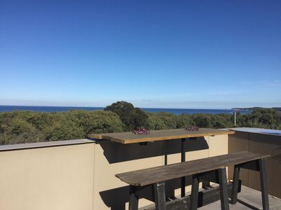 Photo for Beautiful, modern home with excellent views of the ocean and inlet