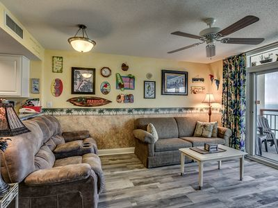 Photo for Very Clean! All Oceanfront - Master Bedroom, Living Room & 26' Private Balcony!