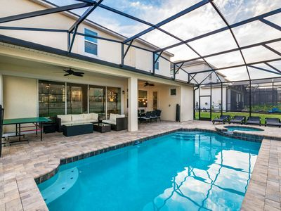 Photo for Sophisticated dog-friendly resort home with private pool and deluxe game room!