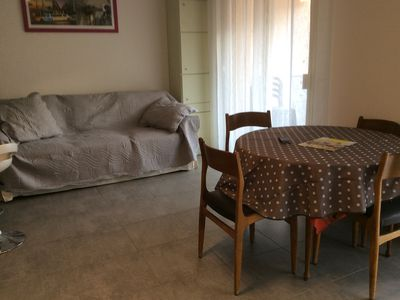 Photo for Large fully renovated studio near the port of Sanary, beaches and shops