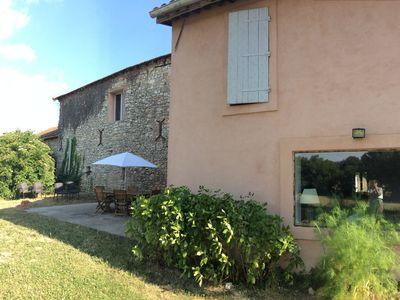Photo for Terraced house in farmhouse of a castle of the 18th
