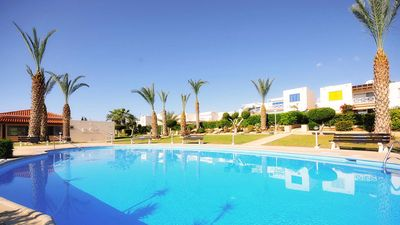 Photo for Luxury Terraced House With Communal Pool And Sea Views