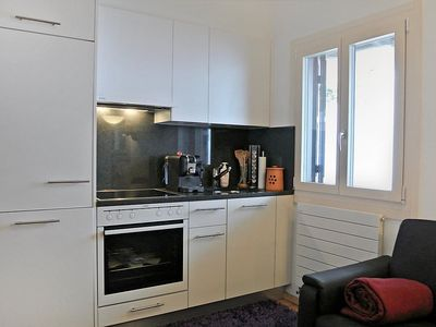 Photo for Apartment 399 m from the center of Silvaplana with Lift, Parking, Internet, Washing machine (62905)