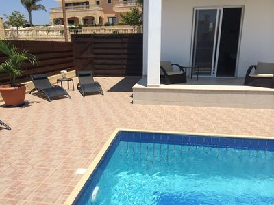 Photo for Modern Villa with Secluded Private Pool and high speed wi-fi access