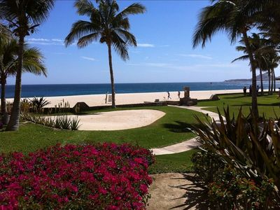Photo for Las Mananitas-2BR-1900 Sq Ft Grnd Floor 30 Steps to the Beach