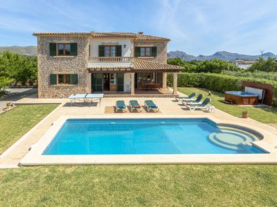 Photo for Villa can Canaveret in Pollensa