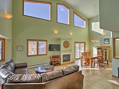 Photo for Spacious Silverthorne Home w/Views by Mtns & Lake