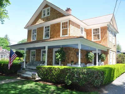 Photo for Centrally located 4BR/3BA home with pool.  Walk to everything!