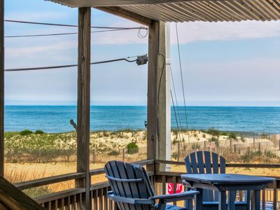 Photo for Beachside retreat w/ lovely deck & amazing location near amenities!