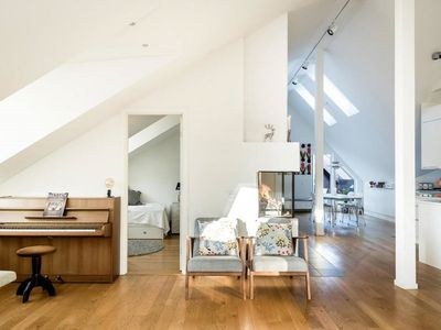 Photo for Beautiful penthouse in a sunny location