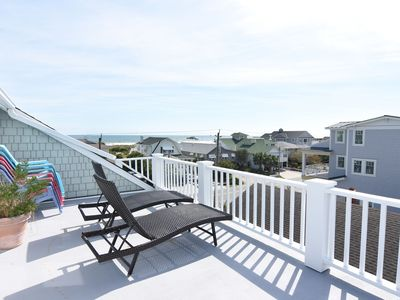 Photo for Beautiful 5 bedroom house with great decks and ocean views.