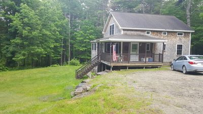 Photo for Spring Hill Cottage with wooded trails and water access (stream and lake)